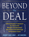 Hubert Saint-Onge, founder of SaintOnge Alliance has released his new book Beyond The Deal.